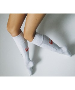 Fencing socks with Polish Flag